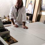 Karl Heinz Daxl bei der Arbeit