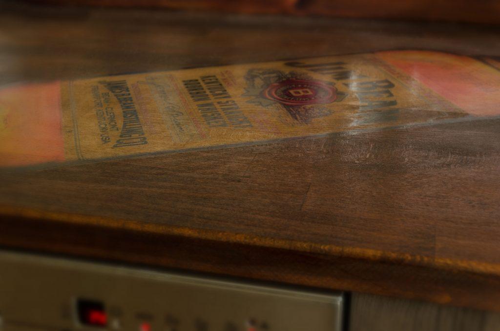 Küchenarbeitsplatte individuell bedruckt