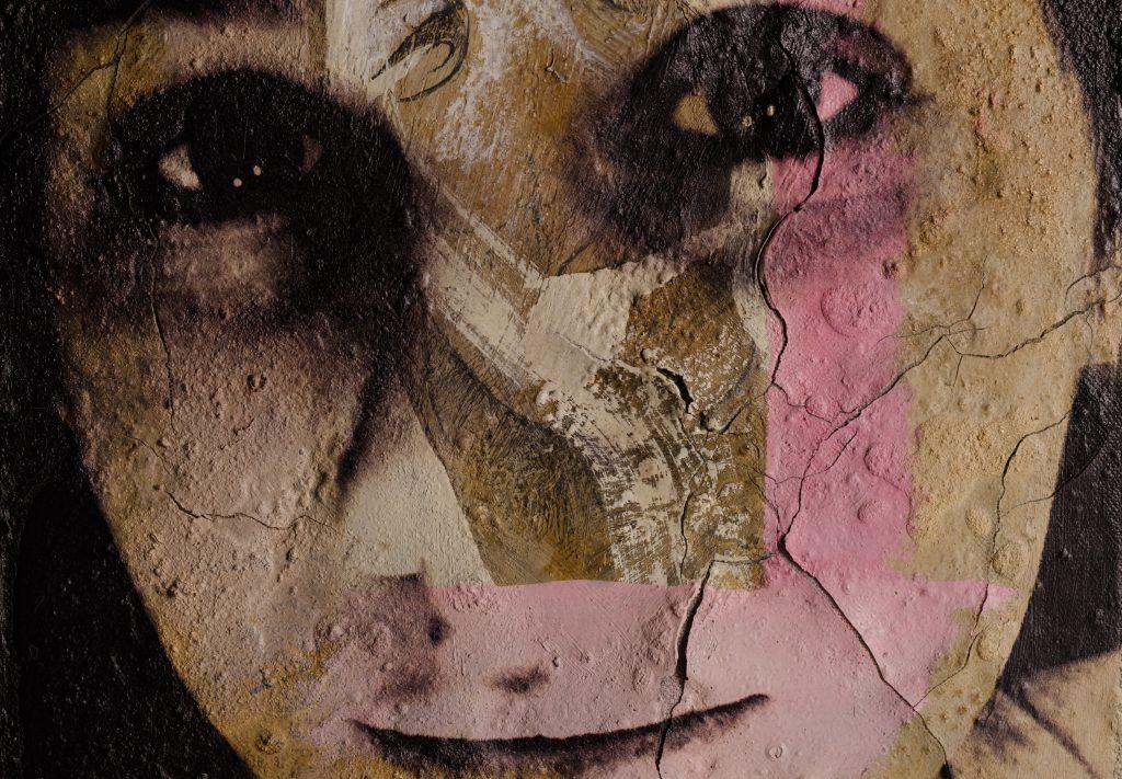 Portrait auf Leinwand gedruckt