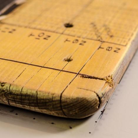 Holzdruck Detail