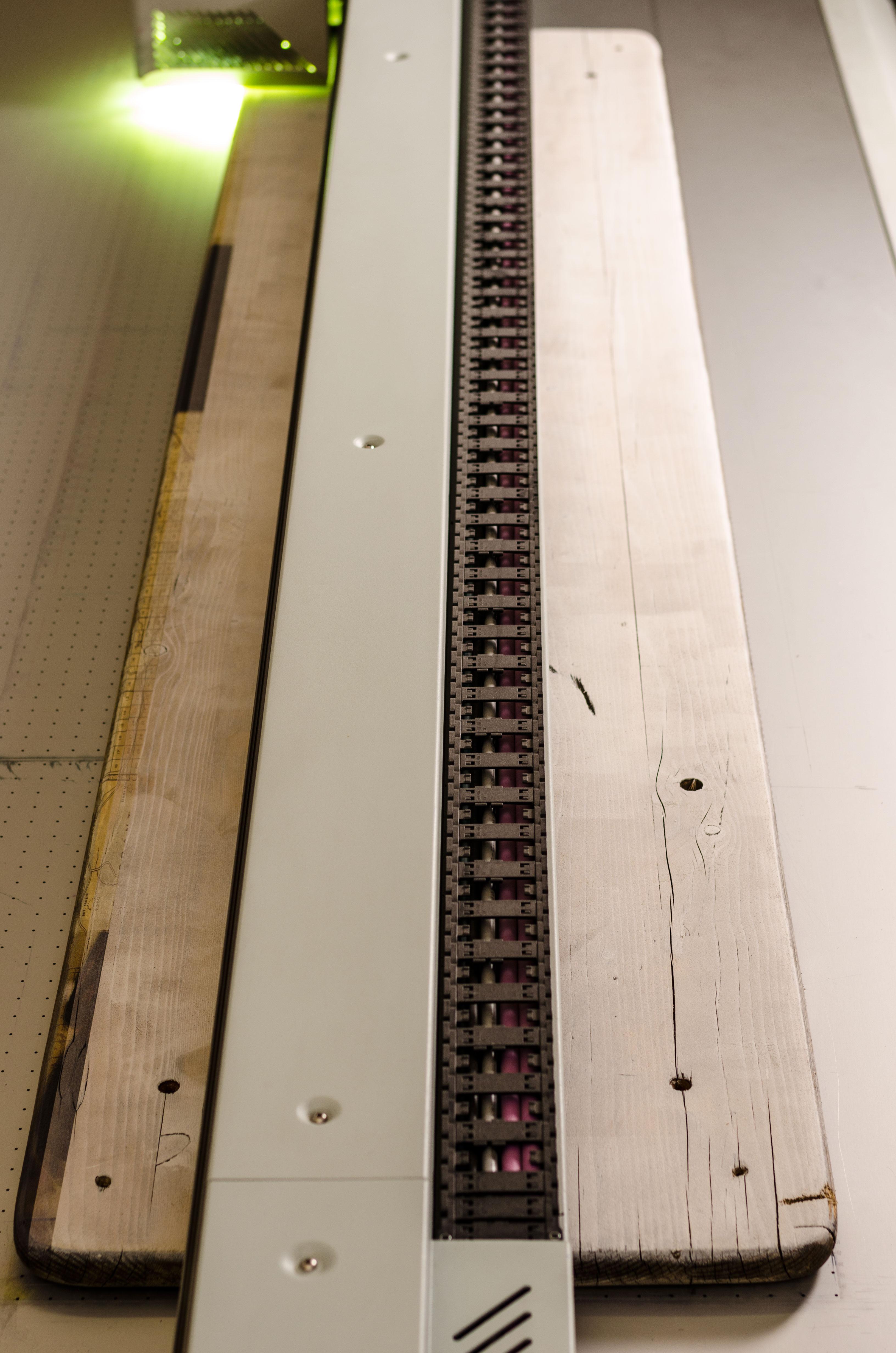 UV-Drucker mit Biertisch