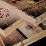 Fotos auf Holz gedruckt