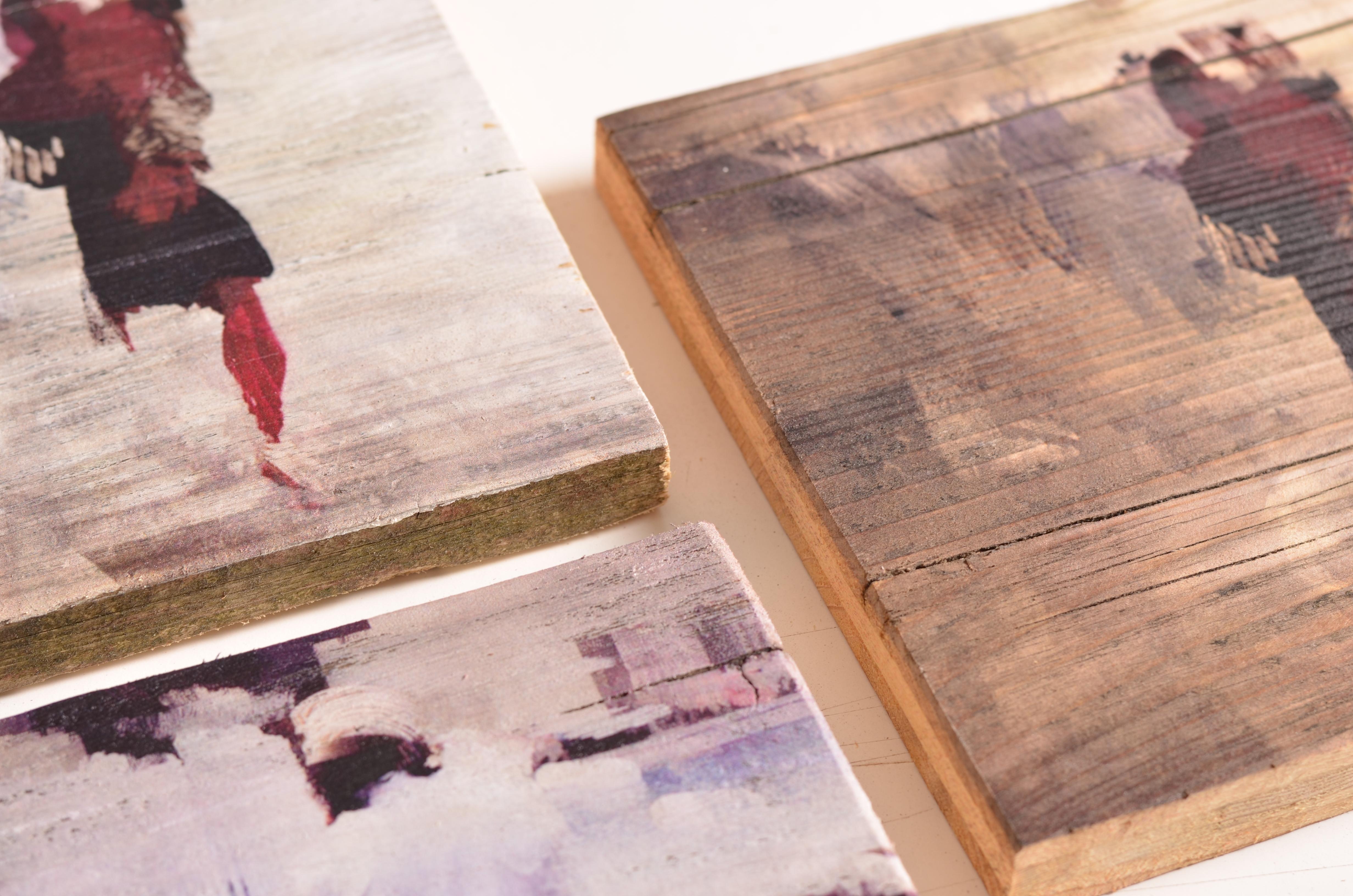 Vintage-Holz