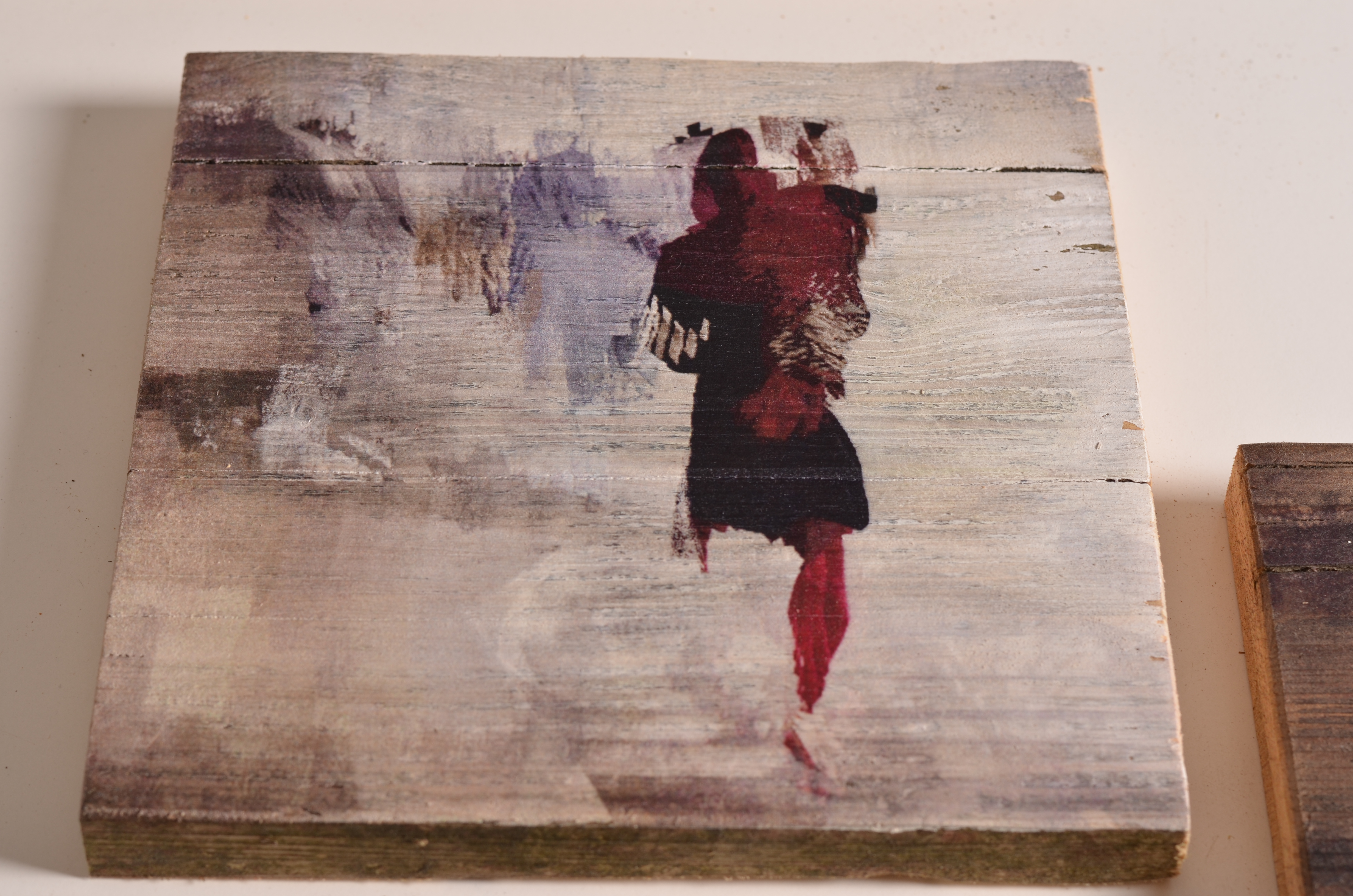 Gedrucktes Gemälde