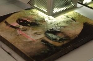 Digitaldruck auf Gemälde