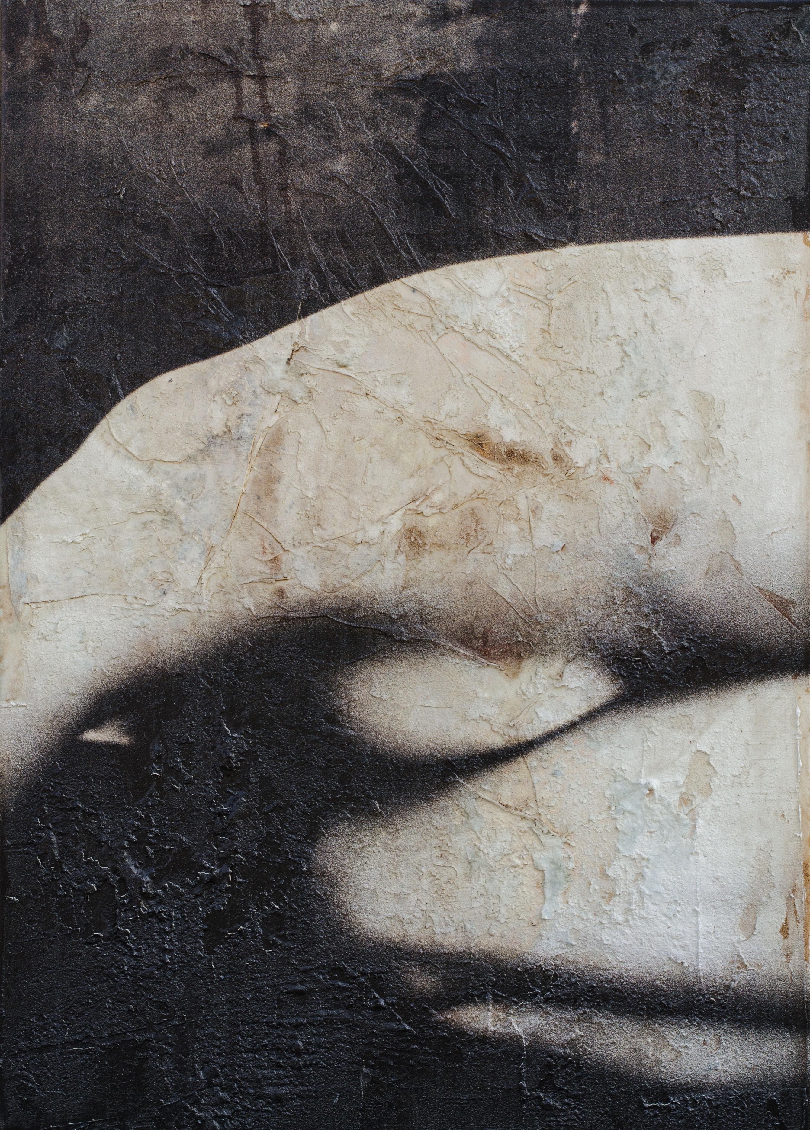 Foto auf Gemälde