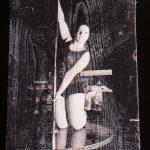 Pole-Dance auf Holz