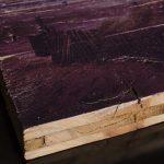 Bild auf Shabby-Holz gedruckt
