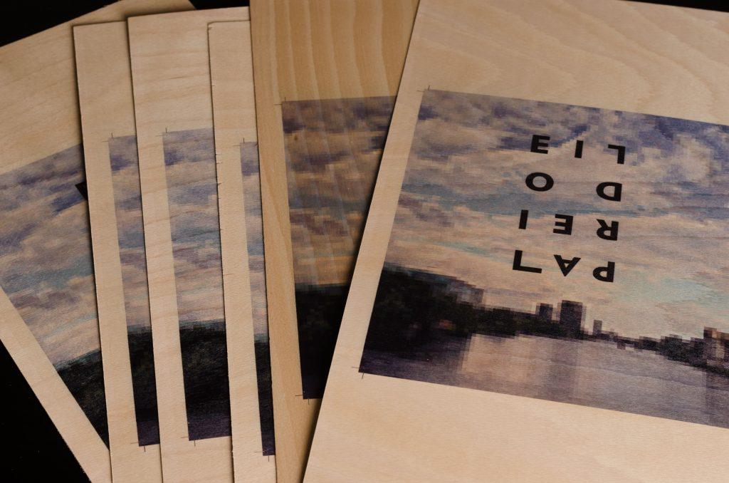 bedruckte Holzfurniere