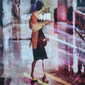 Bild von Linda Hollier auf Holz gedruckt