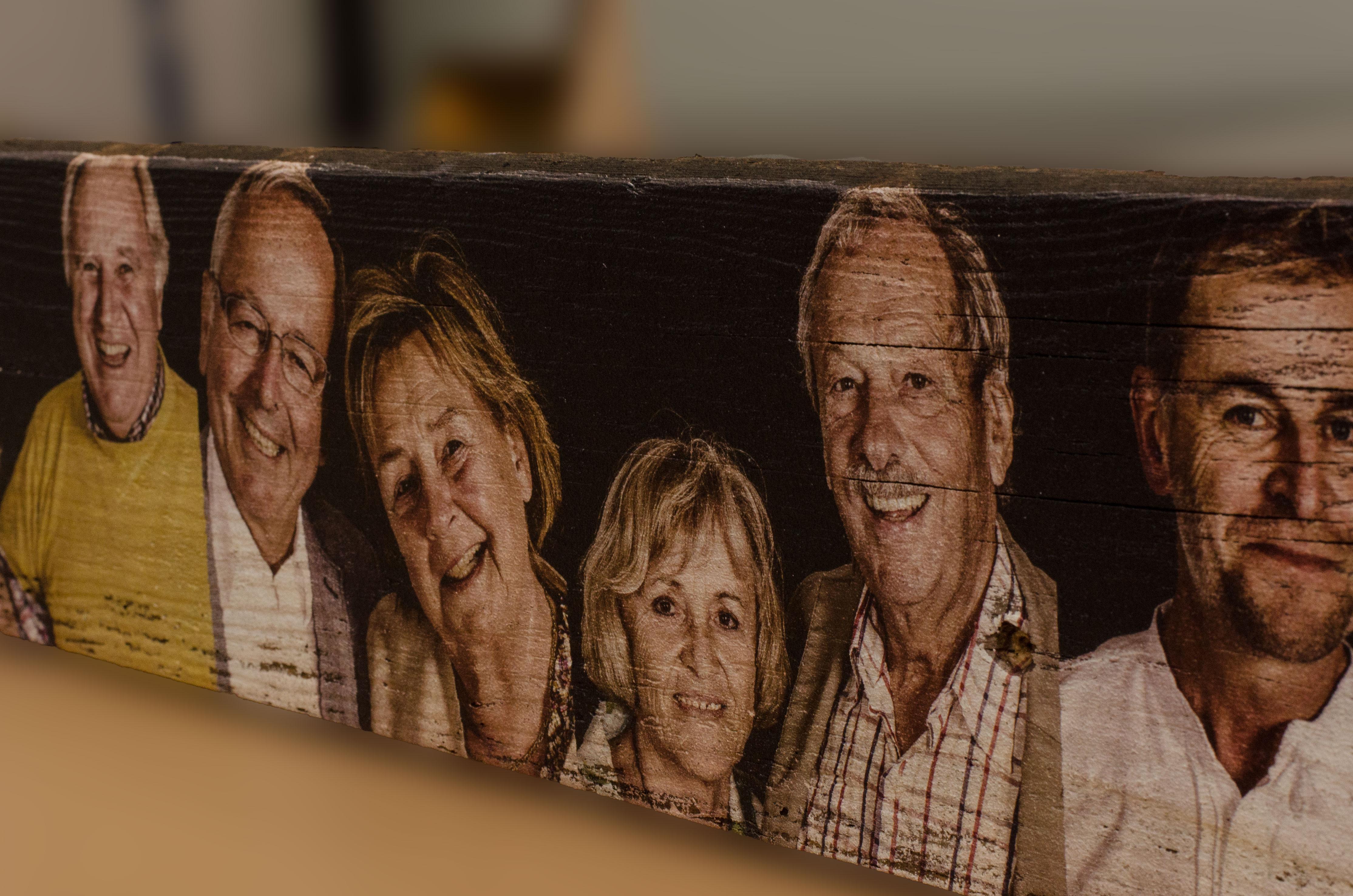 portraits auf holz gedruckt druck auf holz. Black Bedroom Furniture Sets. Home Design Ideas