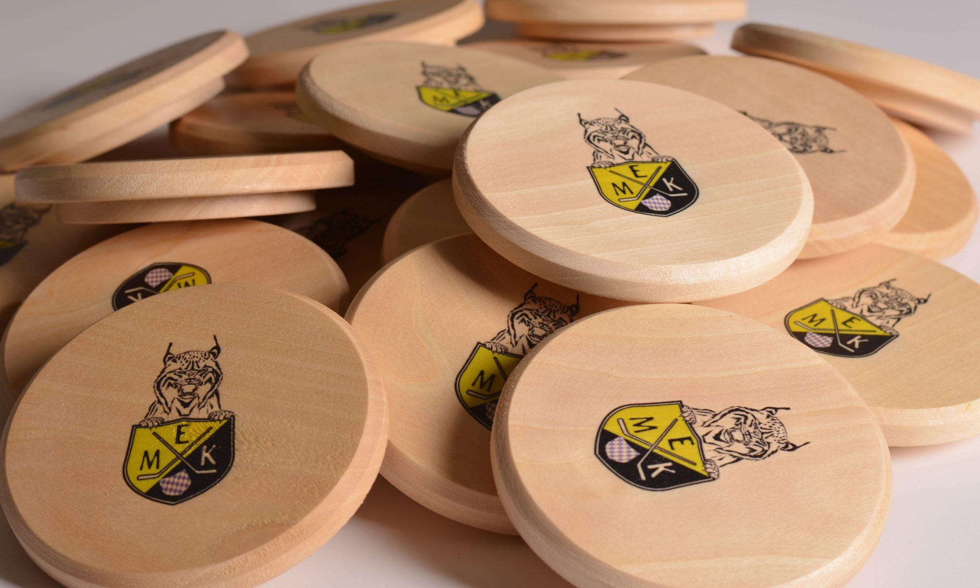 Maßkrugdeckel aus Holz