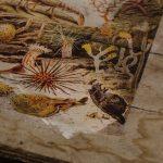 Lithografie auf Holz