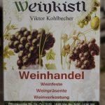 Weinschild aus Holz