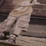 Bild auf Lattenholz