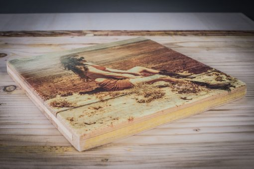 Kunstdruck auf Holz