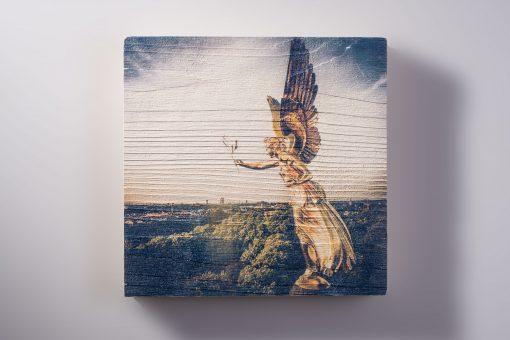Bild auf Holz drucken