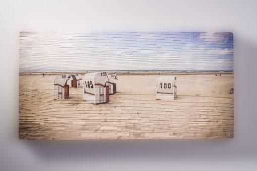 Bild auf Holz