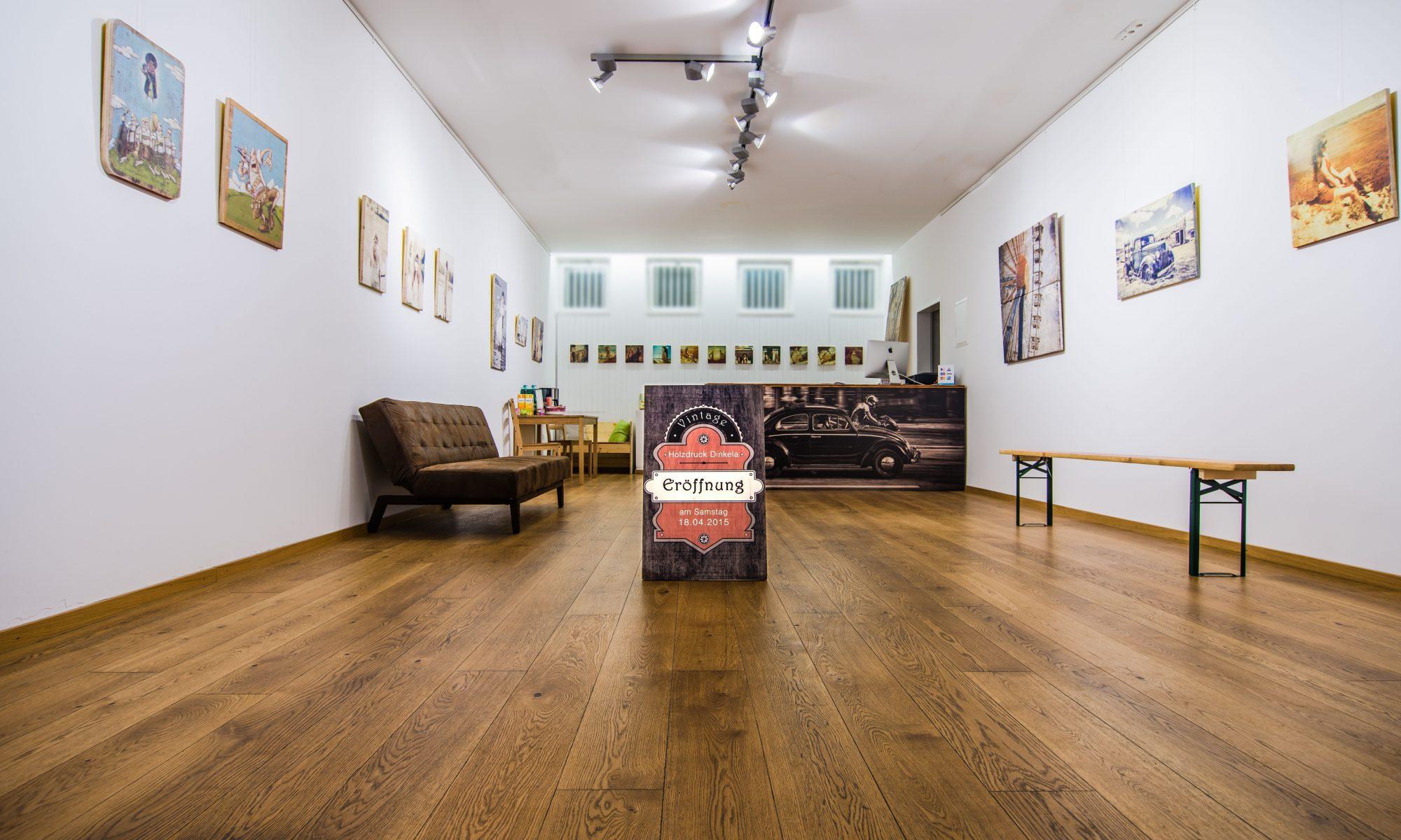 Holzdruck Galerie