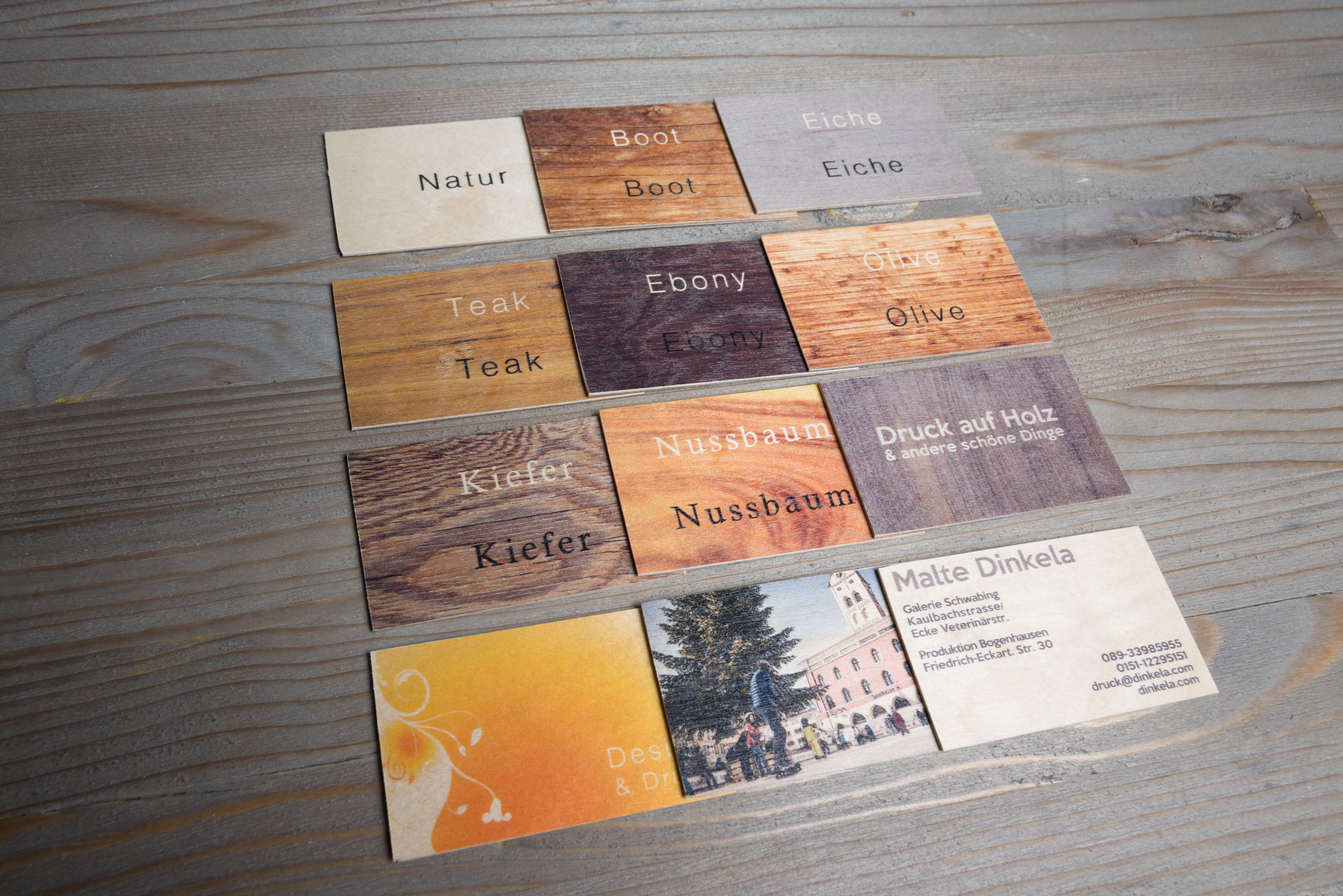 Visitenkartenmuster