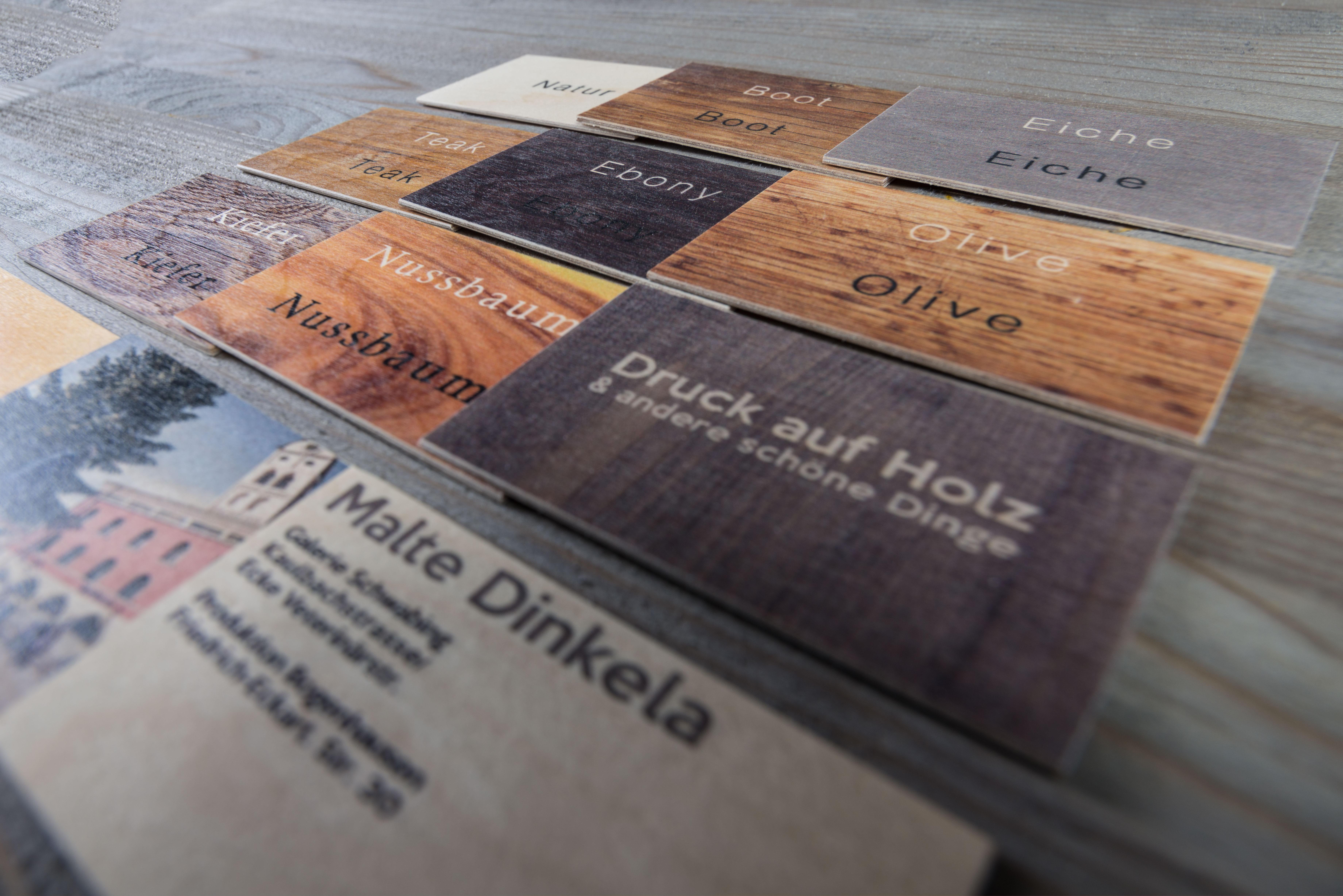 Die Neue Holzkollektion Druck Auf Holz