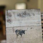 Druck auf altem Holz
