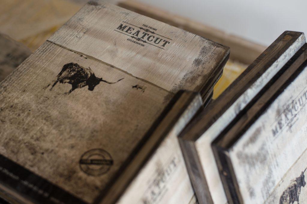 Holzbretter mit Fotodruck