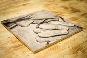 Fotodruck auf Holz