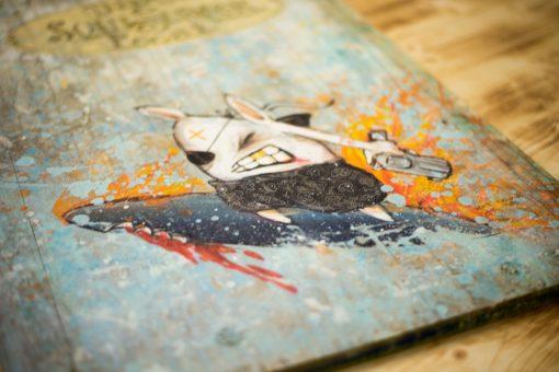 Gemälde auf Holz