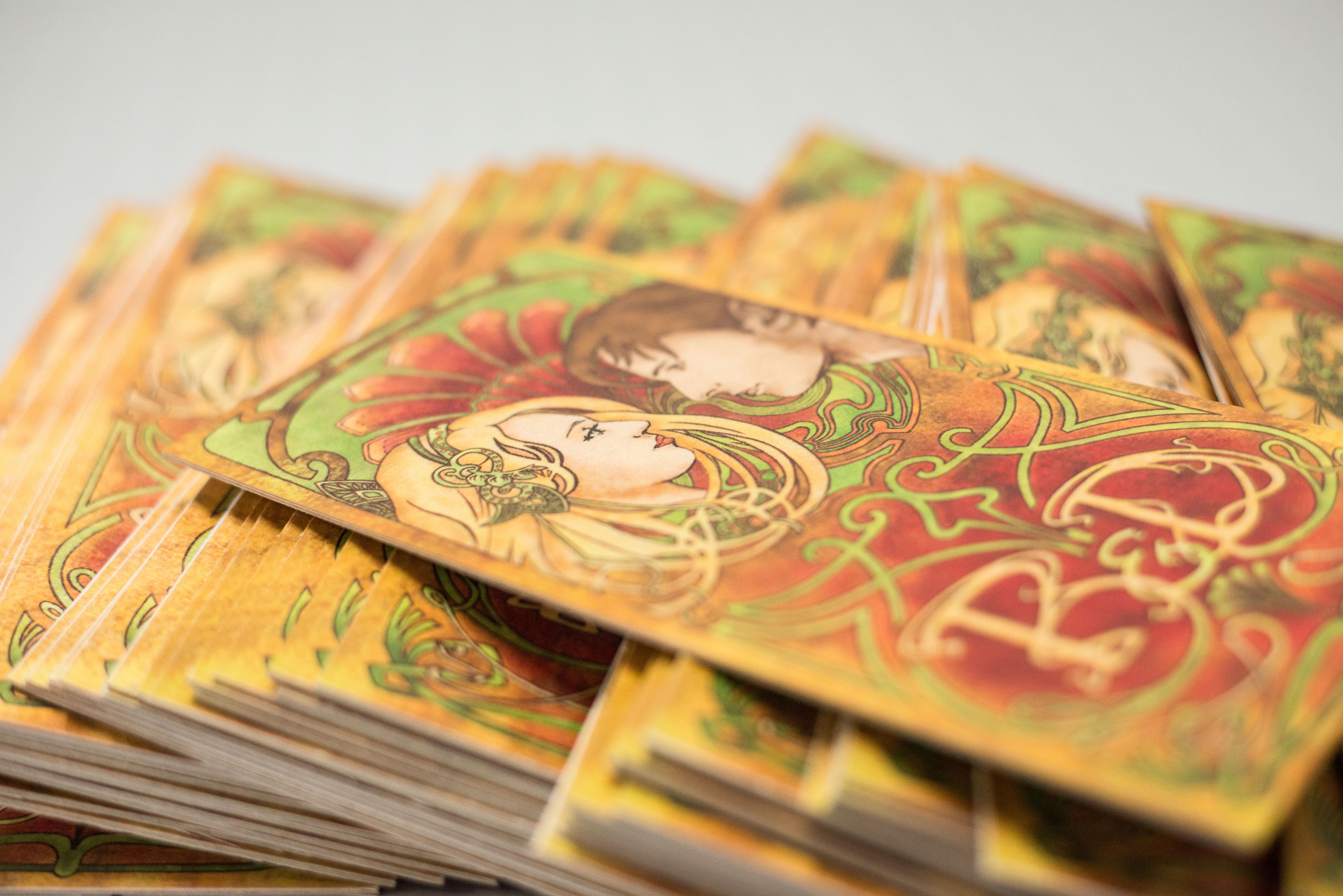 Holzpostkarten