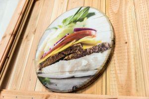 Foodbilder gedruckt auf Holz