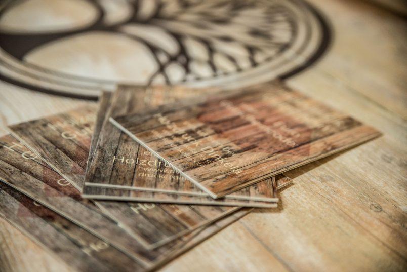 Gutschein für Holzdruck