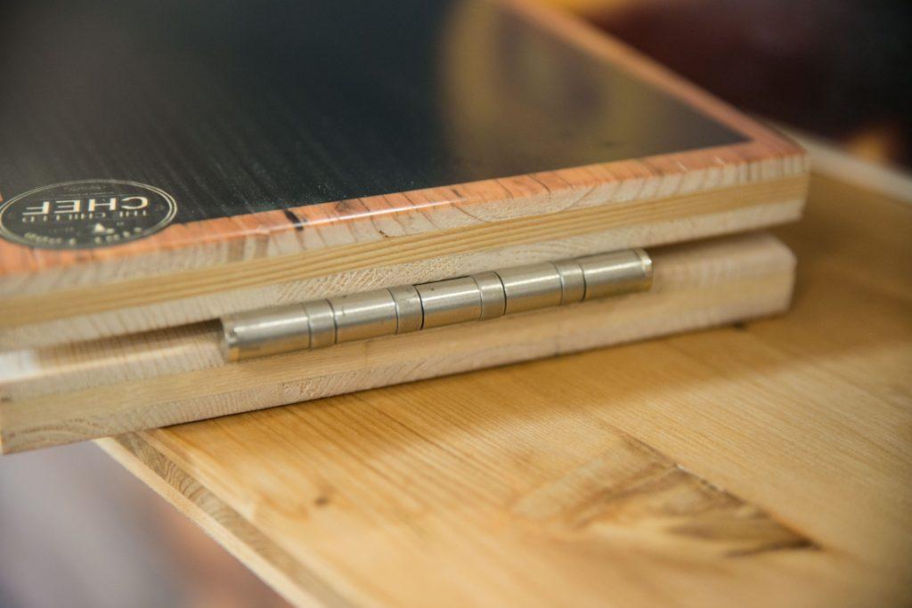Tischaufsteller aus Holz - individuell