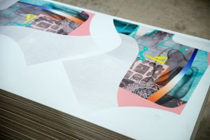 Bedruckte Birkenholzplatten