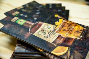Tischkarten für Amaro Montenegro