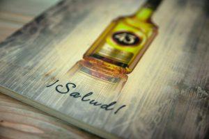 Bedrucktes Klemmbrett aus Holz