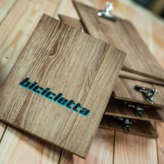 Klemmbretter aus Holz