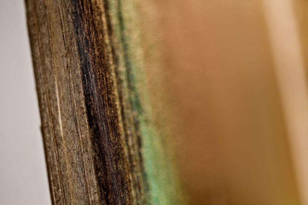 Detail Vintage - Holzdruck